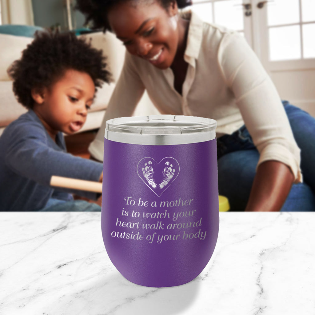 Custom To Be A Mother Engraved 12 oz Tumbler