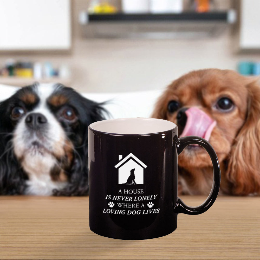 Custom Dog Engraved 11 oz Coffee Mug