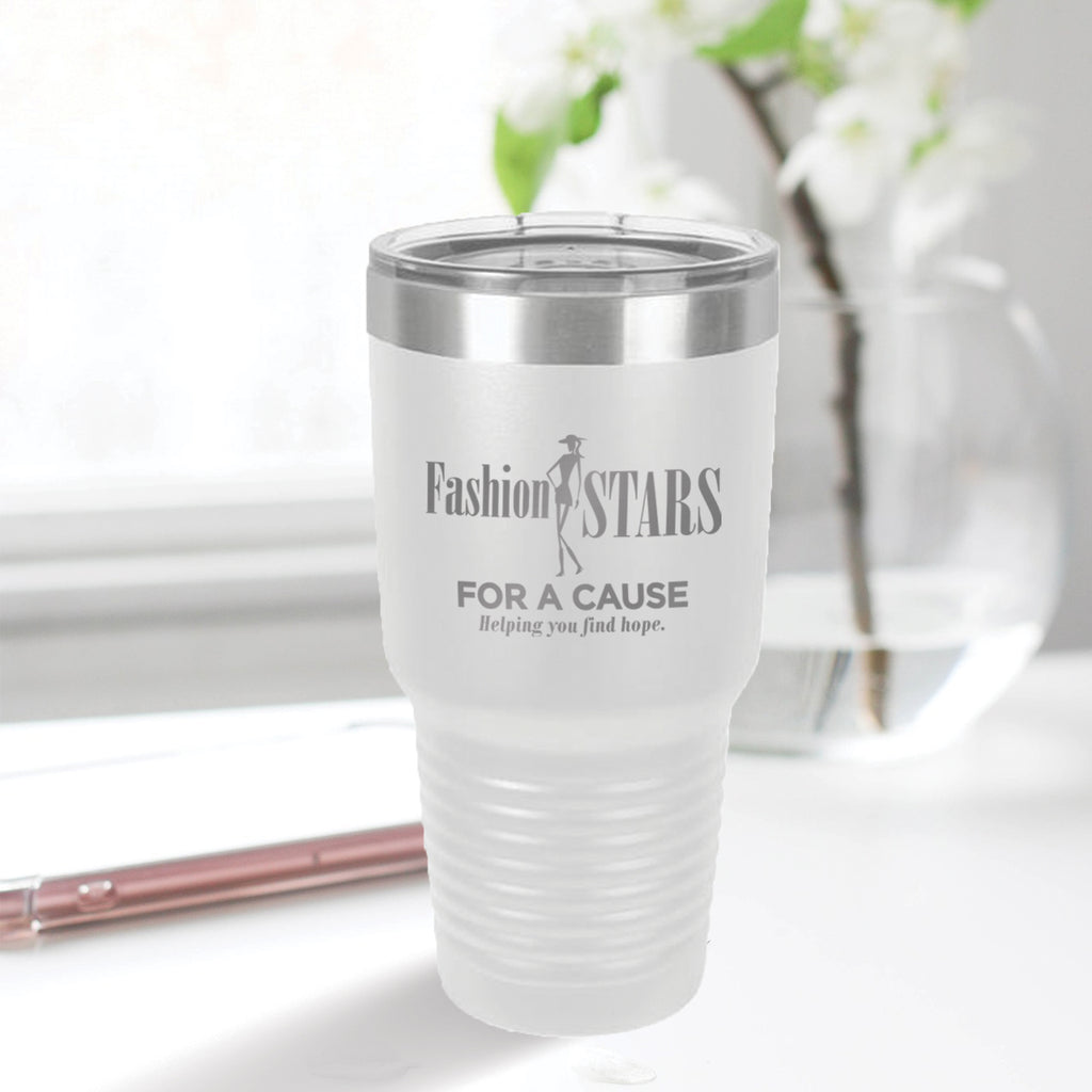 Custom Engraved 30 oz Tumbler