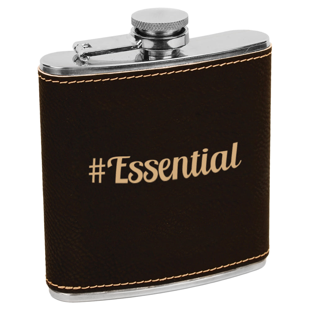 #Essential Engraved Flask