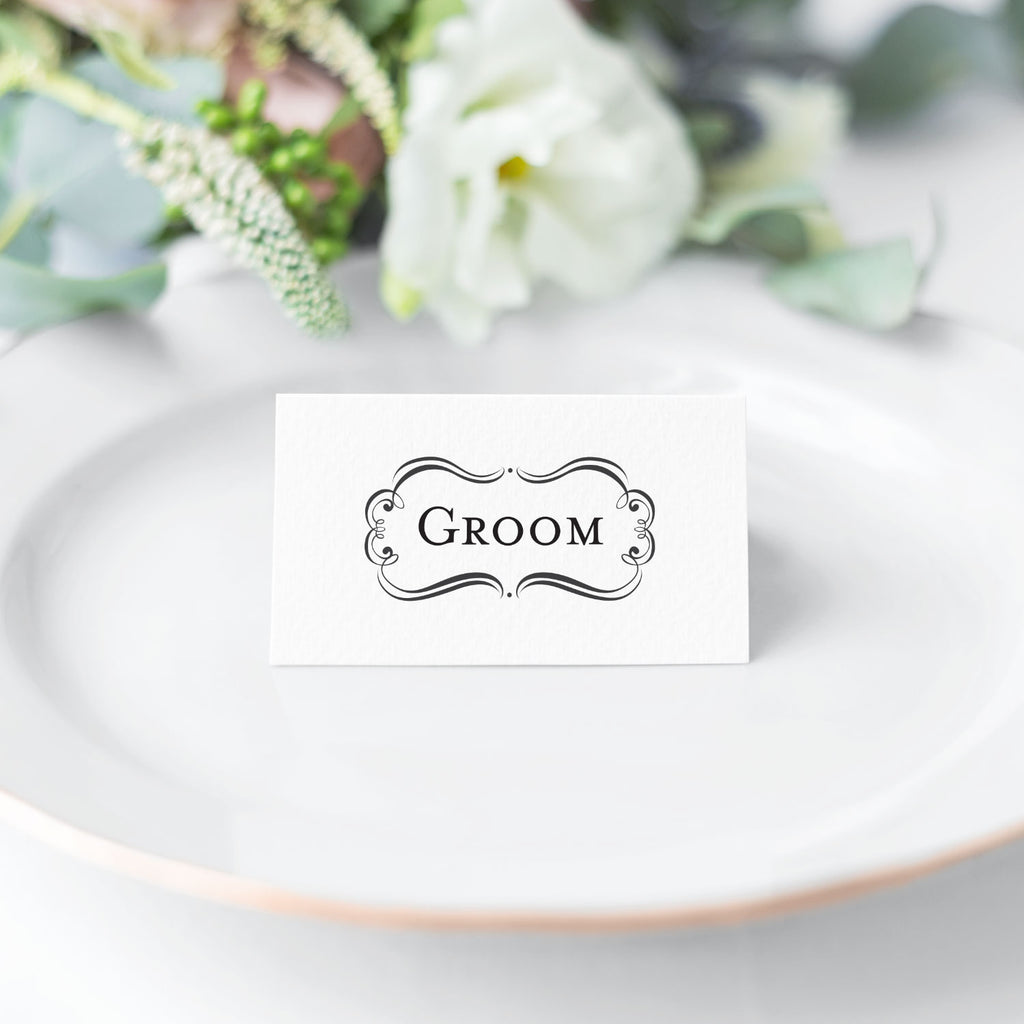 Bridal Amore Suite Groom Wedding Mix & Match Designer Stamp