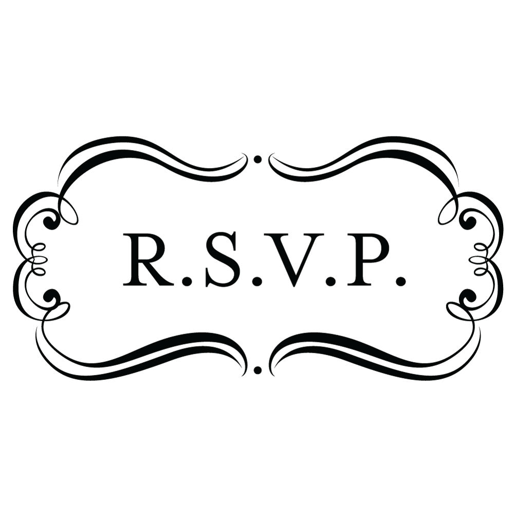 Bridal Amore Suite RSVP Wedding Mix & Match Designer Stamp