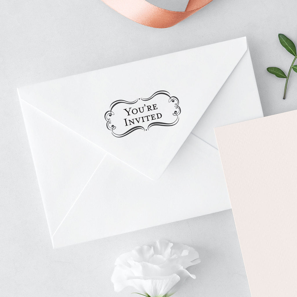 Bridal Amore Suite You're Invited Wedding Mix & Match Designer Stamp
