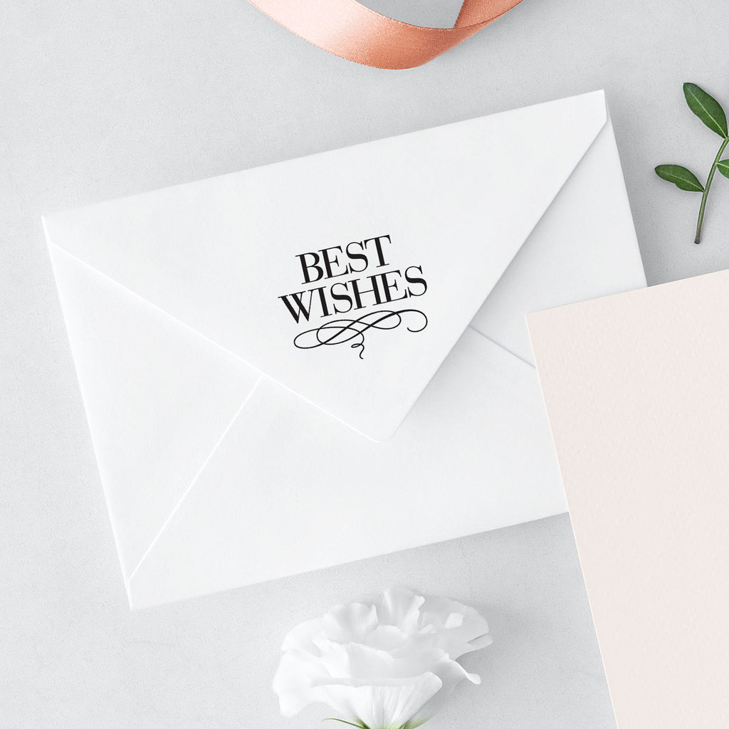 Bridal Luxe Suite Best Wishes Wedding Mix & Match Designer Stamp