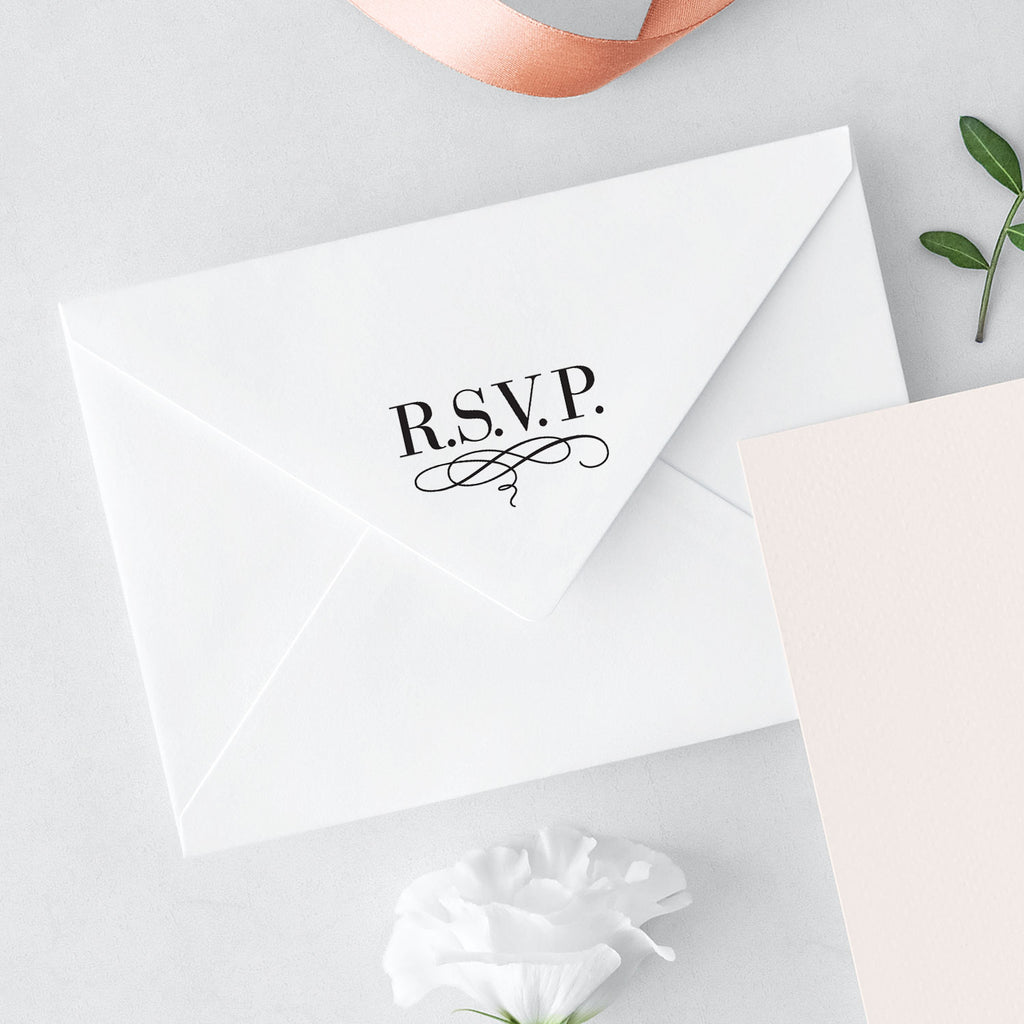 Bridal Luxe Suite RSVP Wedding Mix & Match Designer Stamp