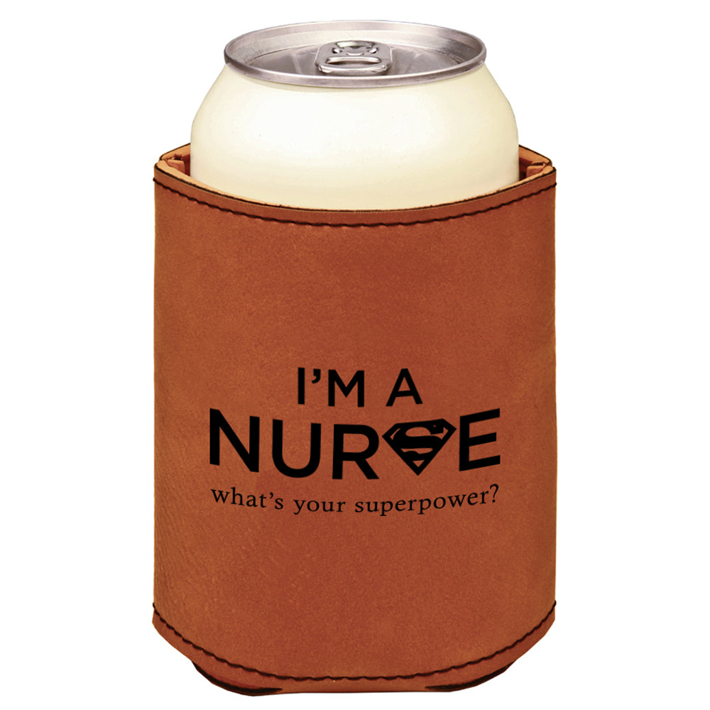 Custom Nurse Engraved Beverage Sleeve