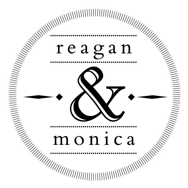 Round Wedding Couple Name Custom Designer Stamp
