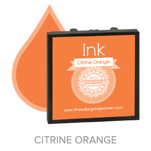 Citrine Orange Interchangeable Ink Cartridge
