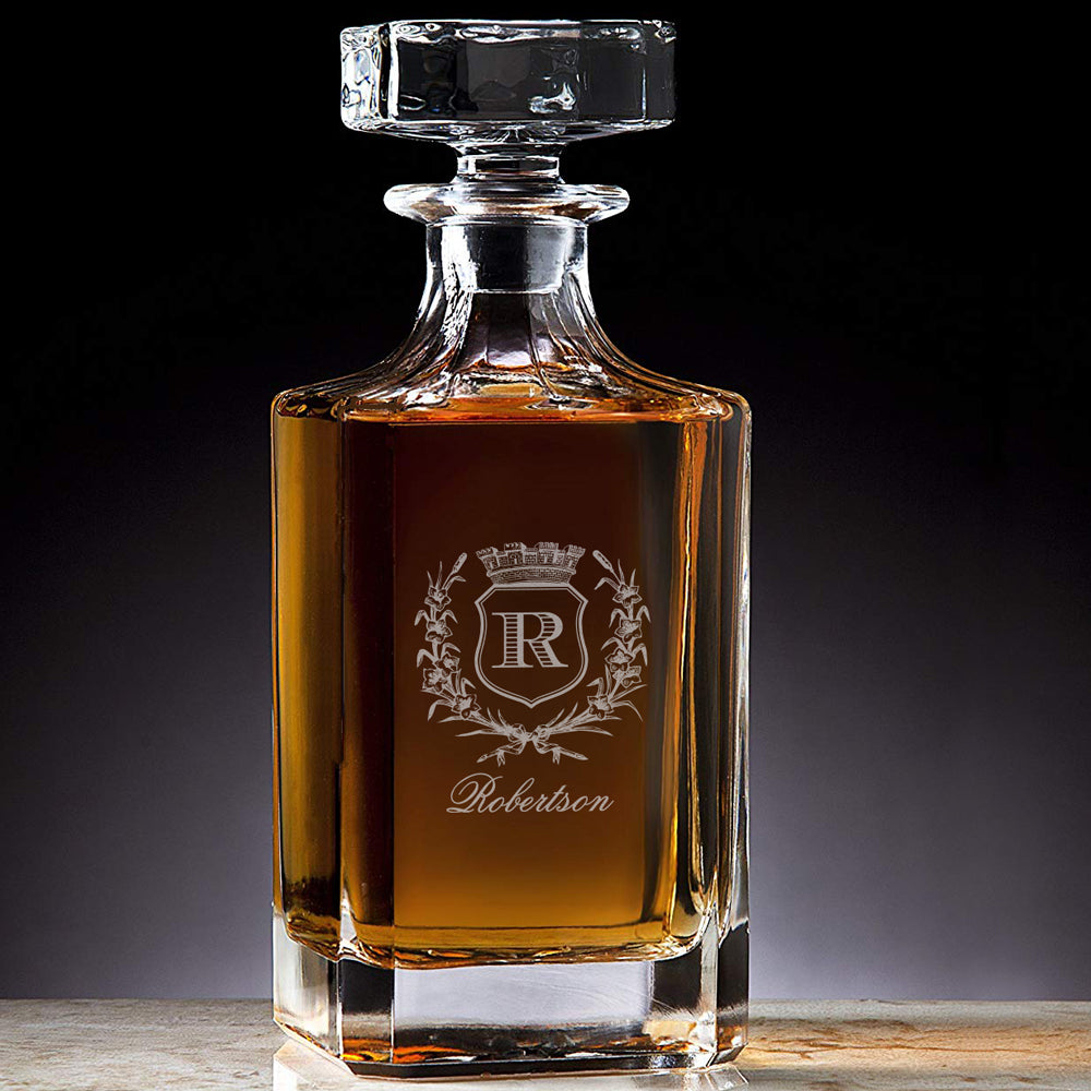Custom Engraved Opulence Decanter™