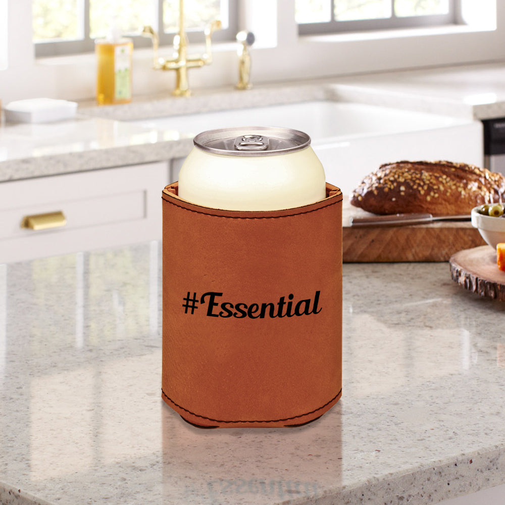 Custom #Essential Engraved Beverage Sleeve