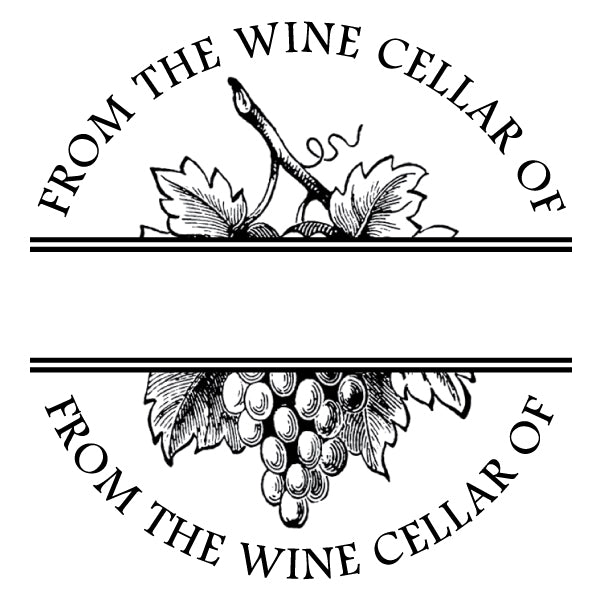 Round From the Wine Cellar of Mix and Match Designer Stamp Clip from Artisan Stamp