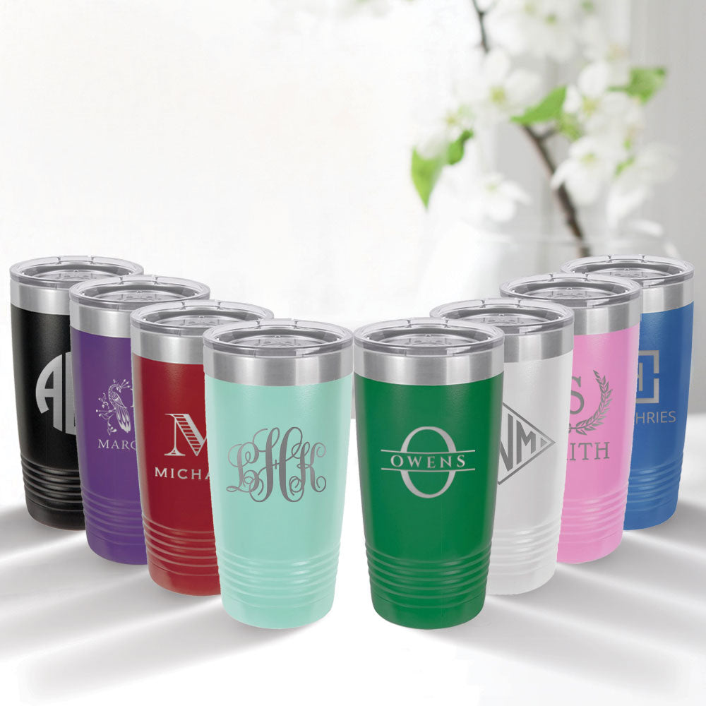 custom engraved 20 oz. tumbler drinkware best sellers