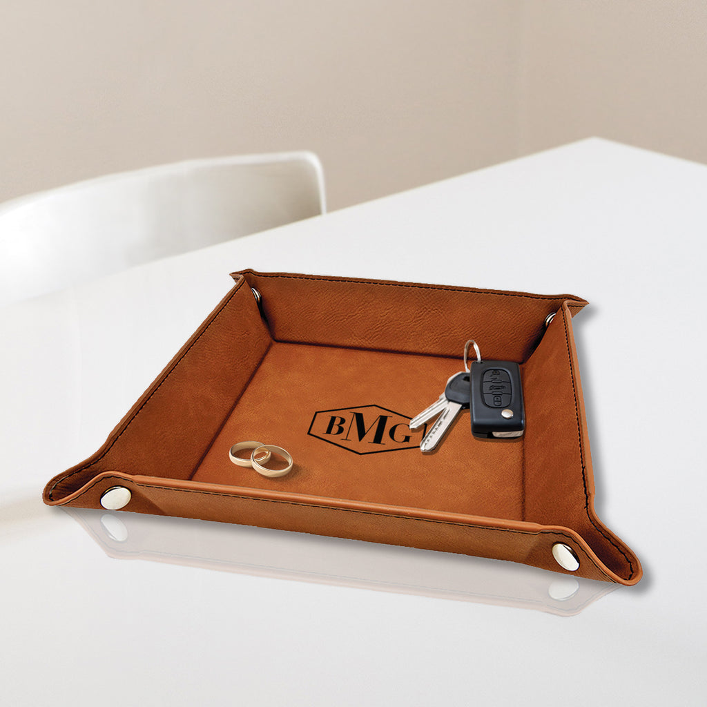 Custom Engraved Valet Tray