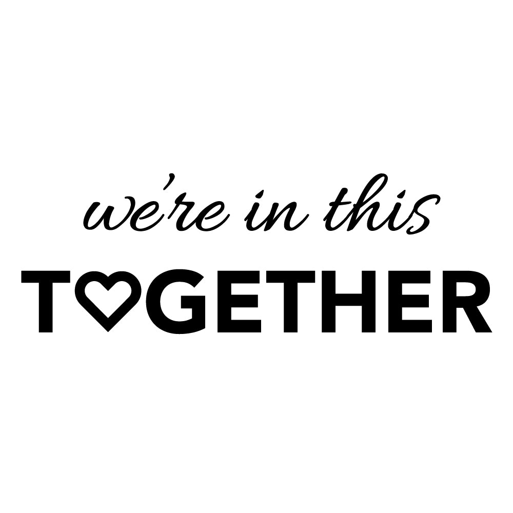 Custom We're in this Together Engraved 11 oz Coffee Mug