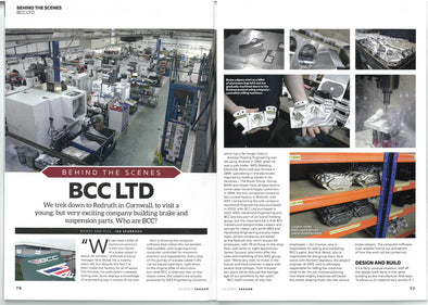 Classic Jaguar Magazine Visit BCC - MEET THE SPECIALISTS