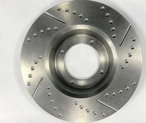 MGA 1600 Brake Disc Set (Grooved and Slotted)