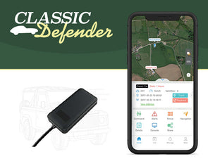 'Classic Defender' Classic car Tracker