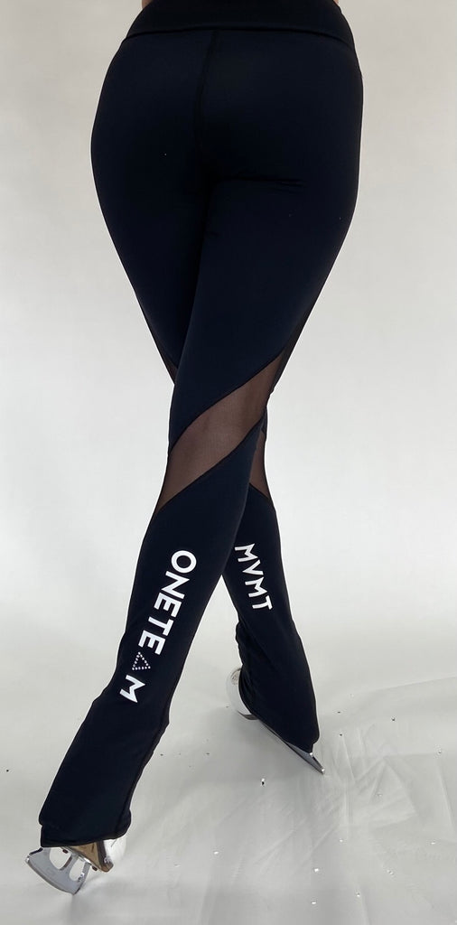 OTM Elite Legging - Mesh and Crystal Accents