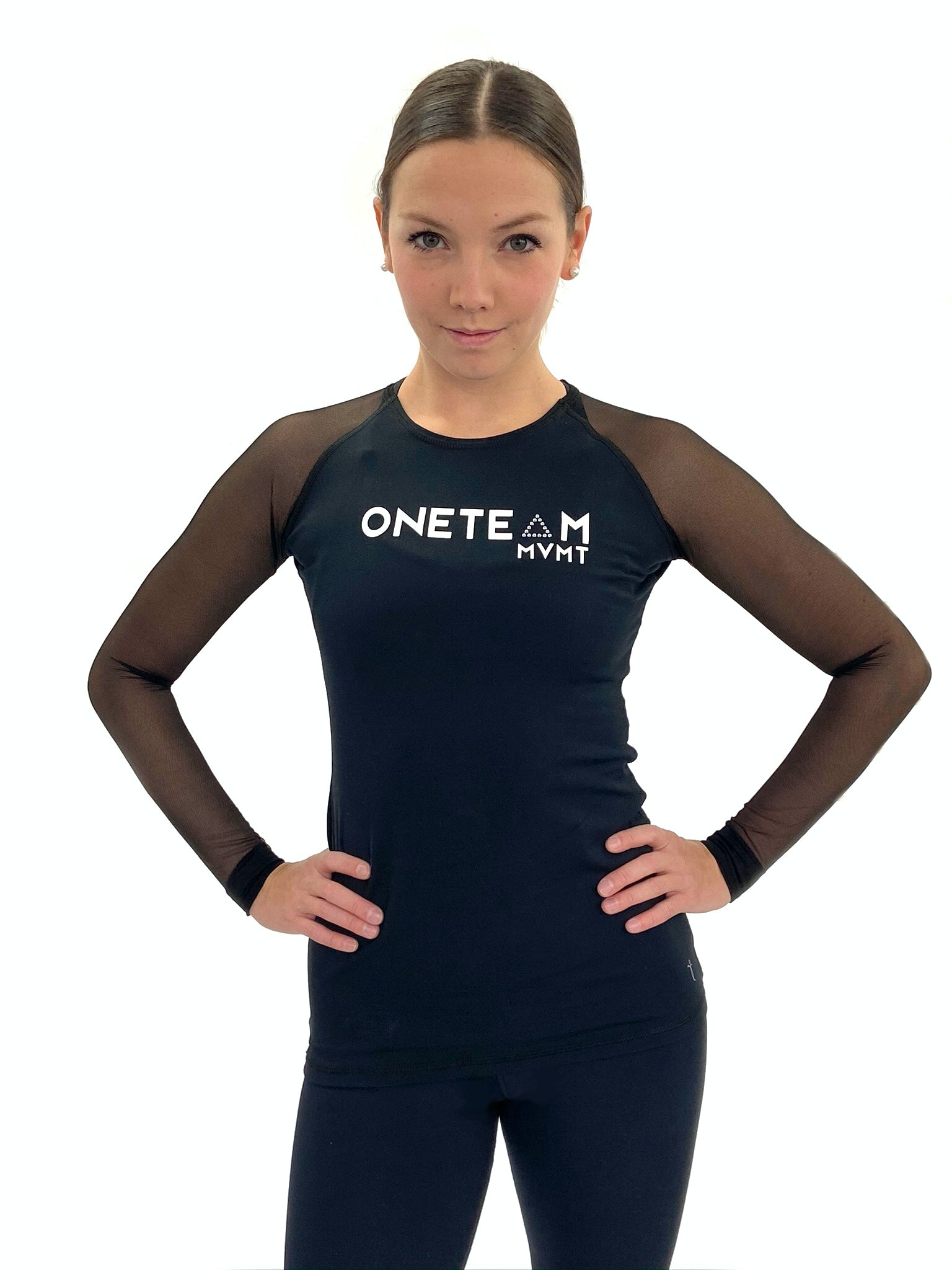 OTM Elite Long Sleeve - Mesh and Crystal Accents