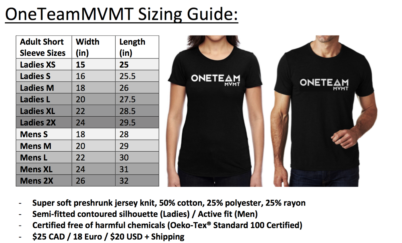 MENS Signature OneTeamMVMT T-shirt