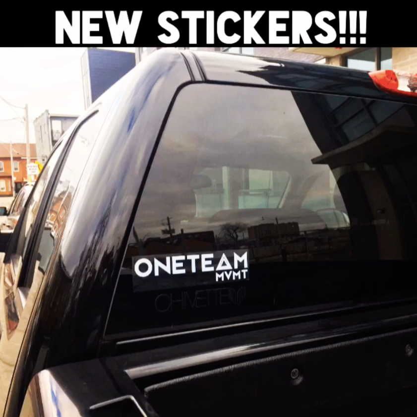 OneTeamMVMT decals