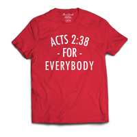 Acts 2:38 For Everybody (Red)