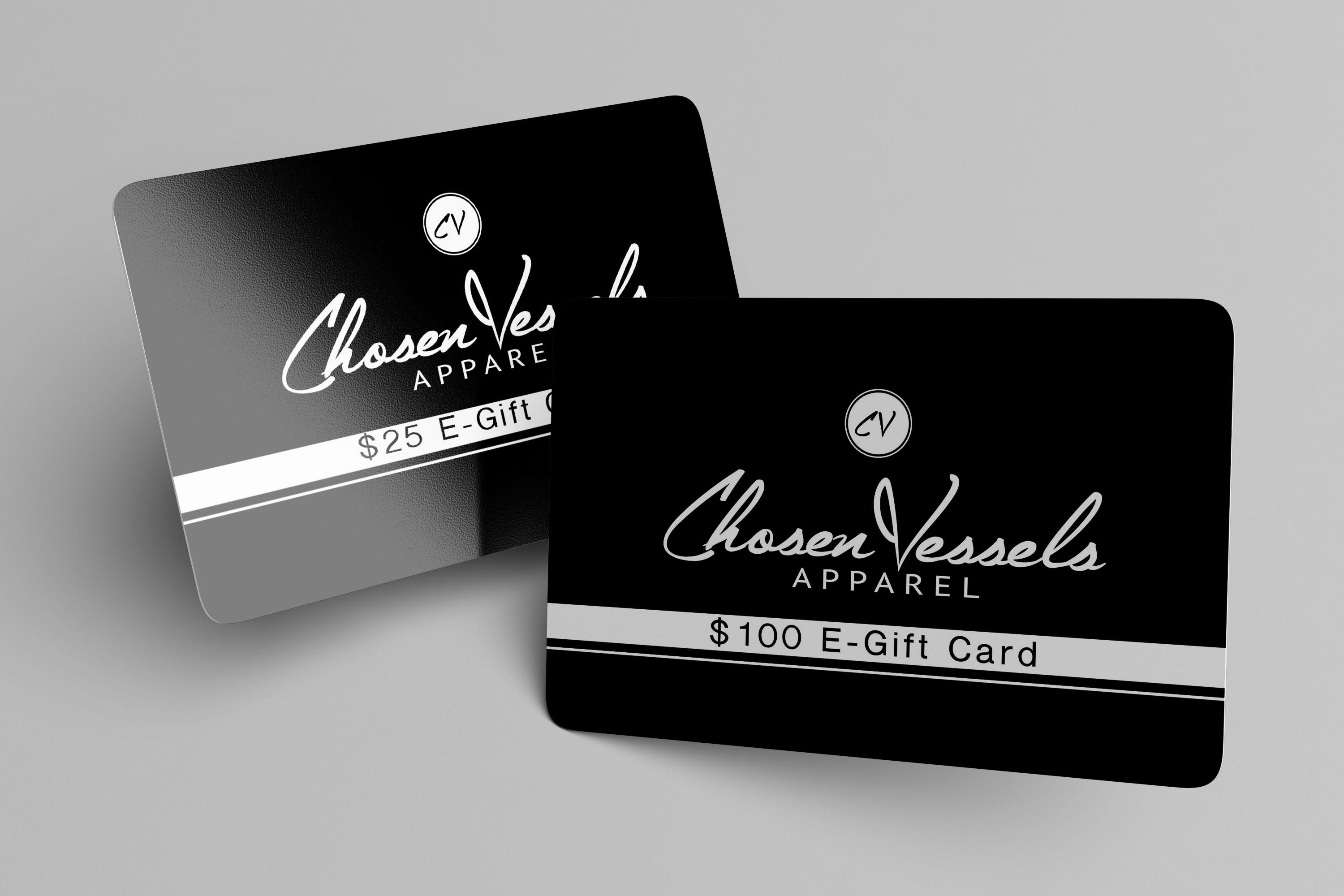 Chosen Vessels Apparel Gift Card