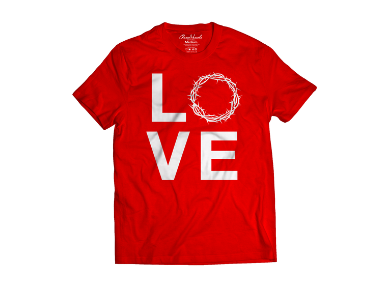 Agape ( Love) Red Tee