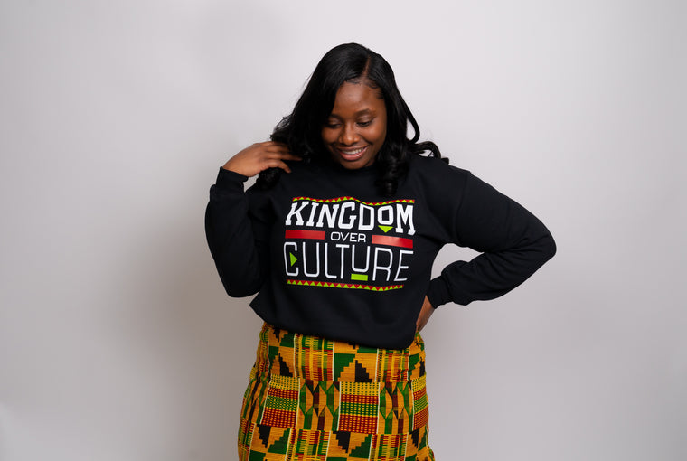Kingdom Over Culture Sweater (Black)