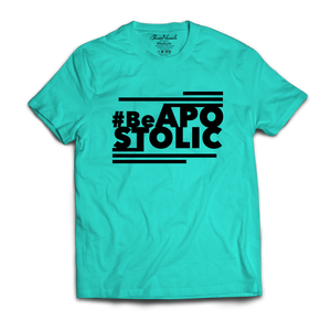 Be Apostolic - (Aqua & Black)