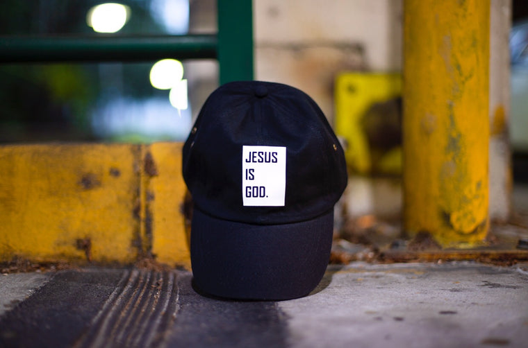 Jesus is God - Dad Cap (Black, Red, Pink)