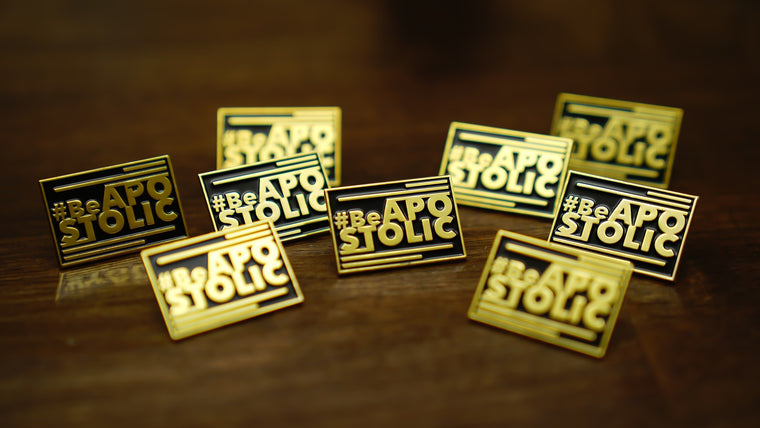 Be Apostolic - Lapel pin
