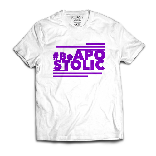 Be Apostolic - (White & Purple)