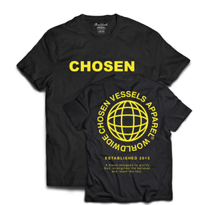 Chosen Vessels Worldwide (Black & Yellow)