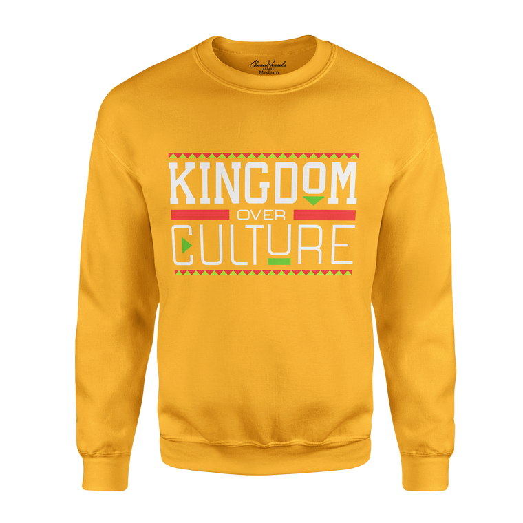 Kingdom Over Culture Sweater (Gold)