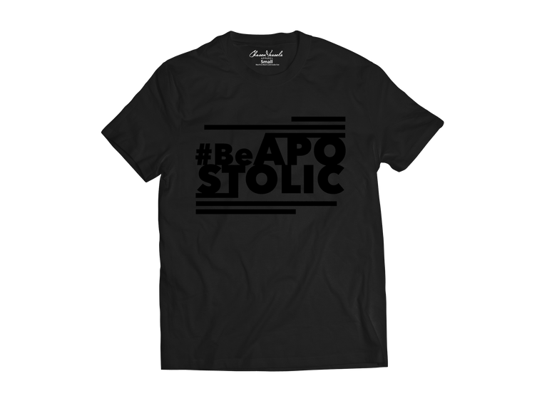 Be Apostolic Black on Black (Limited Edition)