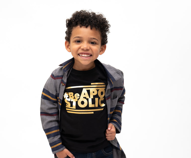 Be Apostolic Kids (Black & Gold) Limited Edition
