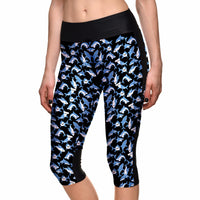 Sharks Capri Leggings