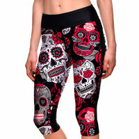 Mexico in Colours Capri Leggings