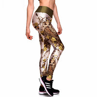 Owls and Leaves Leggings