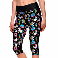 Sweet World Capri Leggings