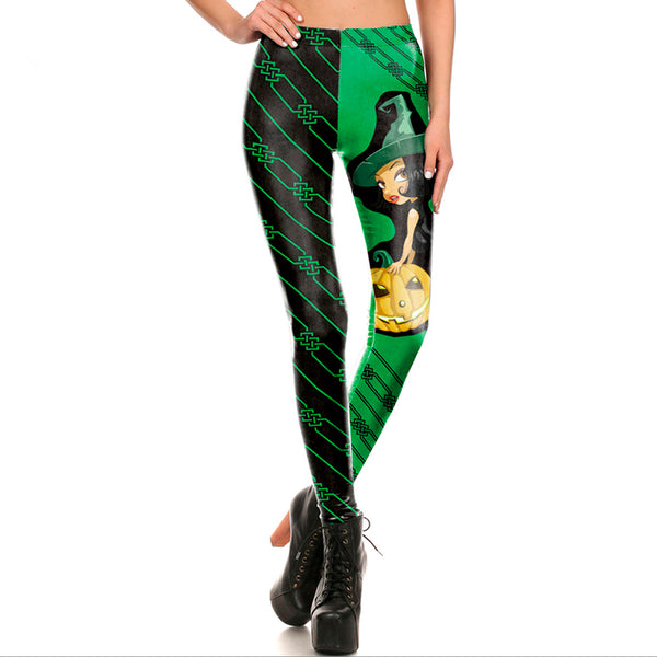 Green Witch Leggings