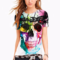 Skull Graffiti Tank Top