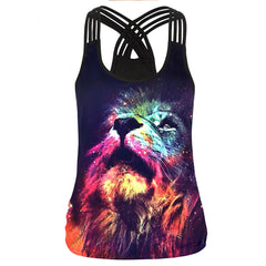 Colourful Lion Tank Top