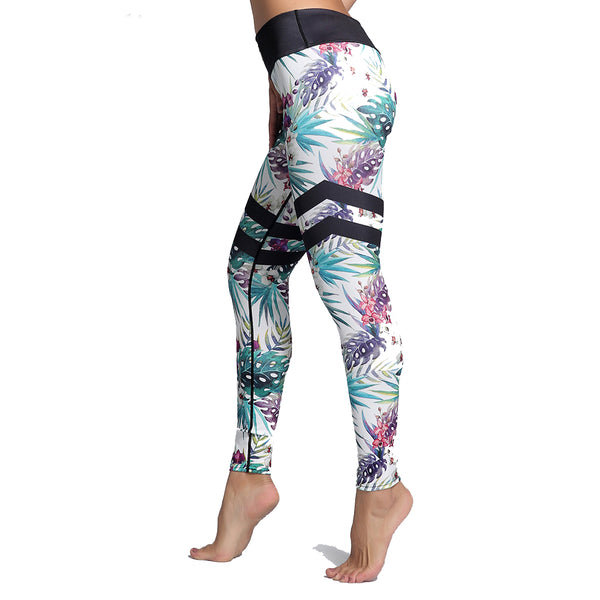 Winter Leaves Leggings