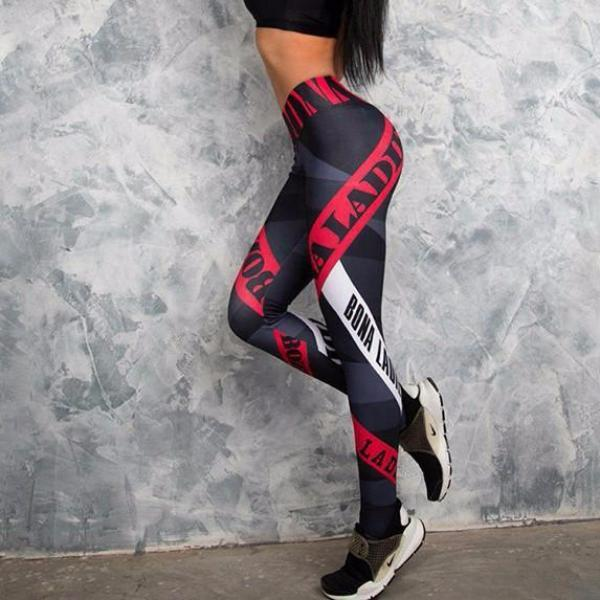 Ladies Tricolor Leggings