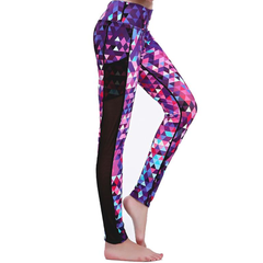 Multy Pink Rombo Leggings