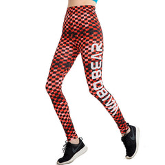 Energic Red Leggings