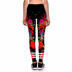Garden Skull Leggings