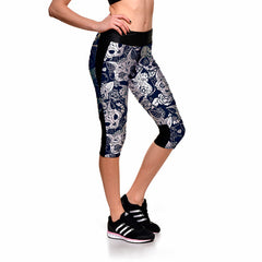 Egyptian Cat Capri Leggings